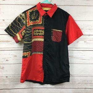 Men's Reason Button Down Shirt B35